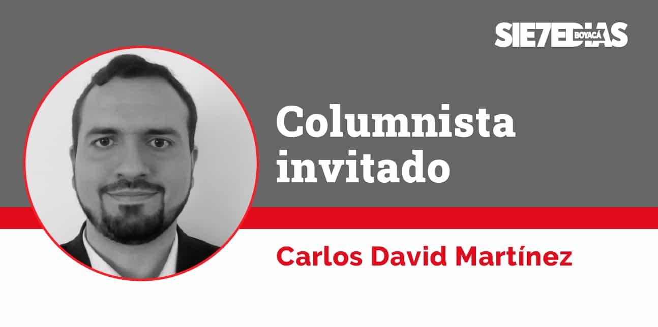 La investigación al rescate - Carlos David Martínez Ramírez - #ColumnistaInvitado 1
