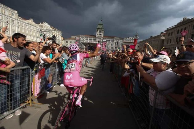 El día que Nairo Quintana, se convirtió en el primer latinoamericano en ganar el Giro de Italia 1