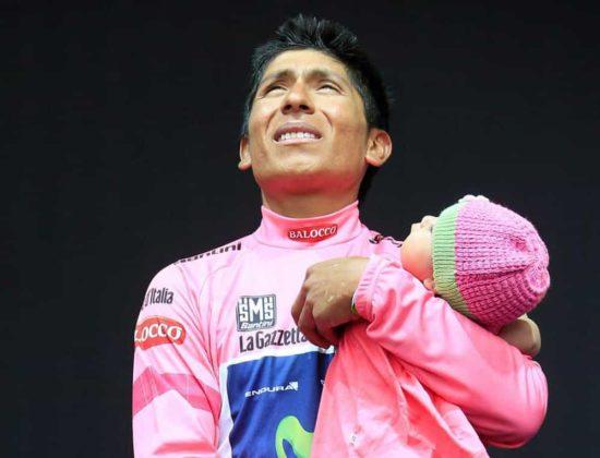 El día que Nairo Quintana, se convirtió en el primer latinoamericano en ganar el Giro de Italia 15