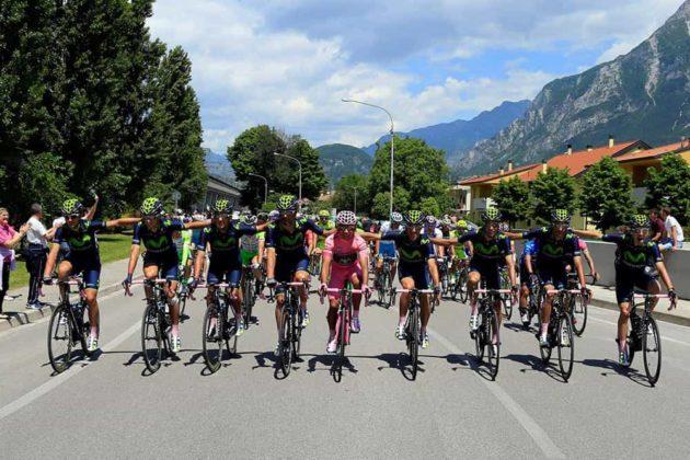 El día que Nairo Quintana, se convirtió en el primer latinoamericano en ganar el Giro de Italia 13