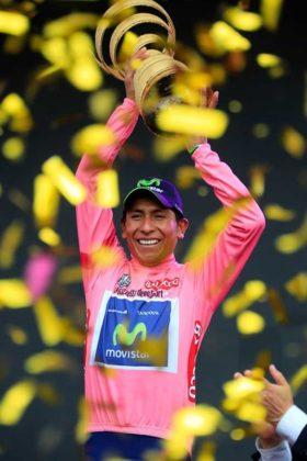 El día que Nairo Quintana, se convirtió en el primer latinoamericano en ganar el Giro de Italia 12