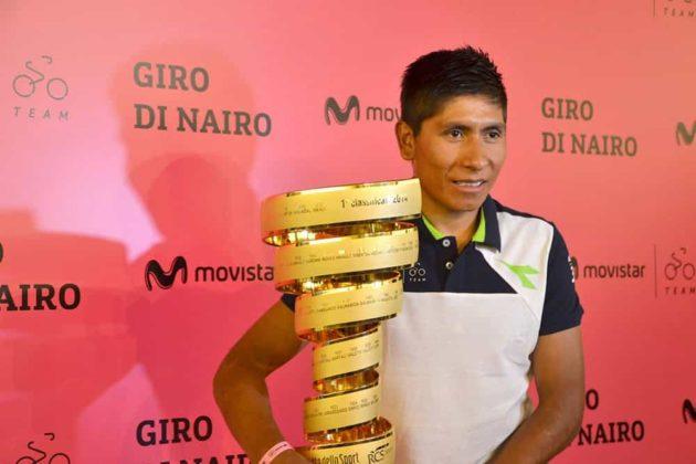 El día que Nairo Quintana, se convirtió en el primer latinoamericano en ganar el Giro de Italia 9