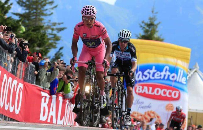El día que Nairo Quintana, se convirtió en el primer latinoamericano en ganar el Giro de Italia 2