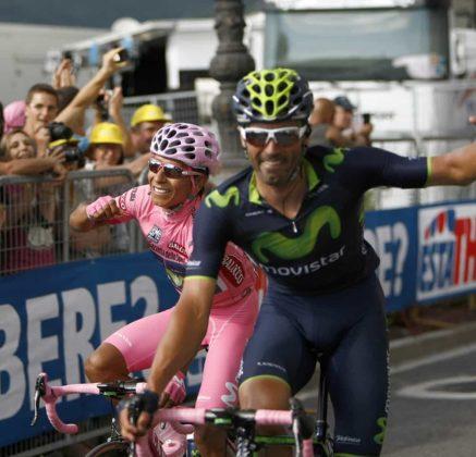 El día que Nairo Quintana, se convirtió en el primer latinoamericano en ganar el Giro de Italia 3