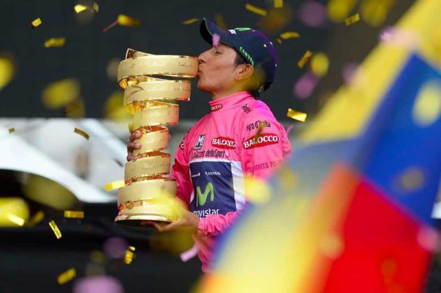 El día que Nairo Quintana, se convirtió en el primer latinoamericano en ganar el Giro de Italia 4