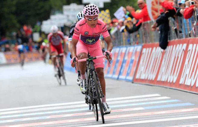 El día que Nairo Quintana, se convirtió en el primer latinoamericano en ganar el Giro de Italia 6