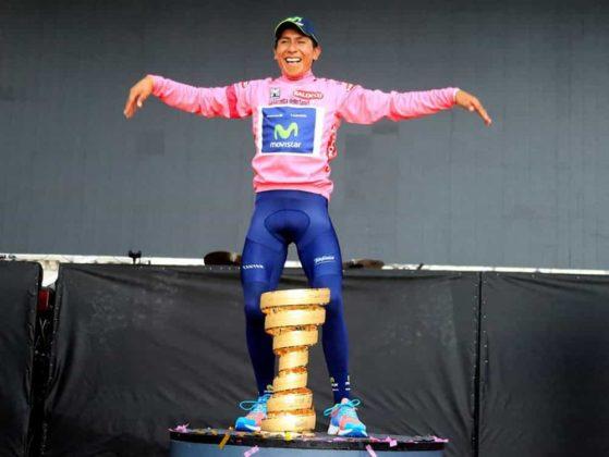 El día que Nairo Quintana, se convirtió en el primer latinoamericano en ganar el Giro de Italia 8