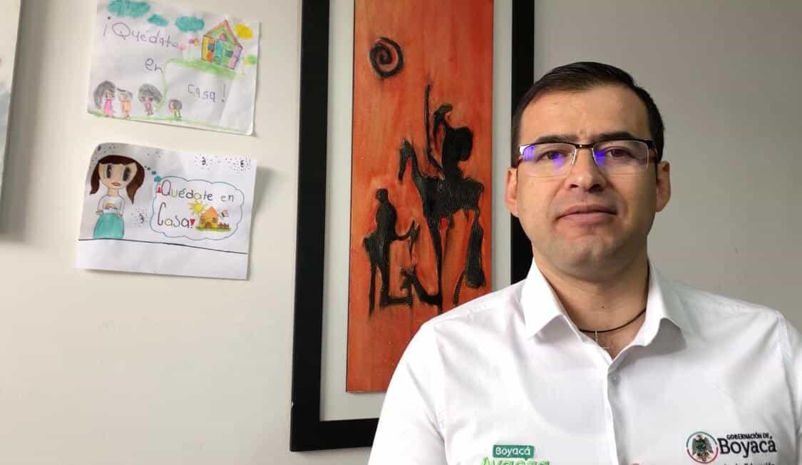 Jaime Raúl Salamanca - Secretario de Educación de Boyacá (Fotografía/Archivo particular)