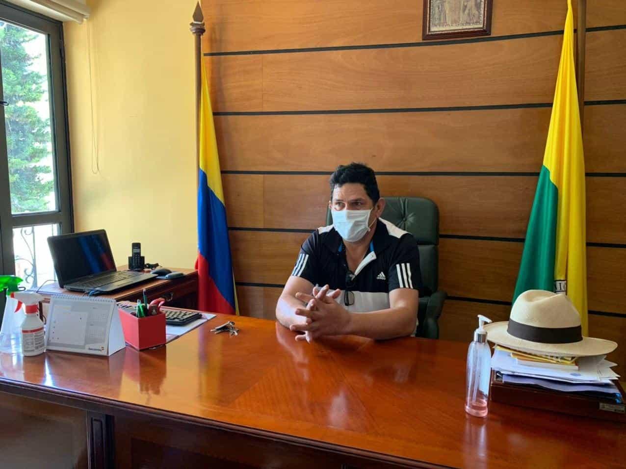 Germán Augusto Sánchez Sánchez, alcalde del municipio de Togüí, ubicado en la provincia de Ricaurte, a una hora de Tunja y a solo 15 minutos de Moniquirá.