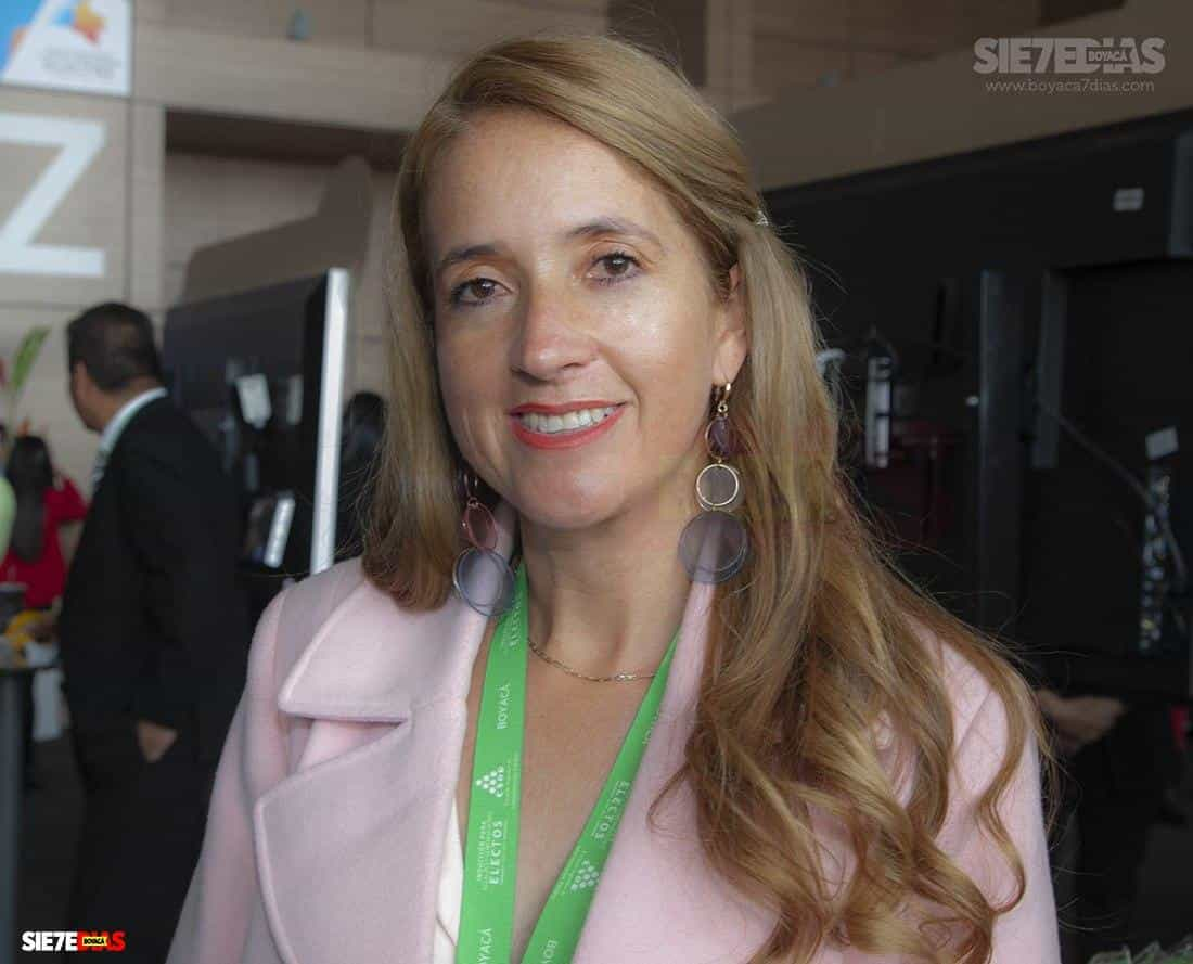 Aurora del Cármen Nieto Molina - alcaldesa de Coper 2020 - 2023. Foto: Luis Lizarazo / Boyacá Siete Días.