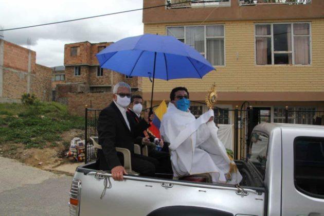 Con permiso especial la Diócesis de Duitama–Sogamoso celebró el Domingo de Corpus 2