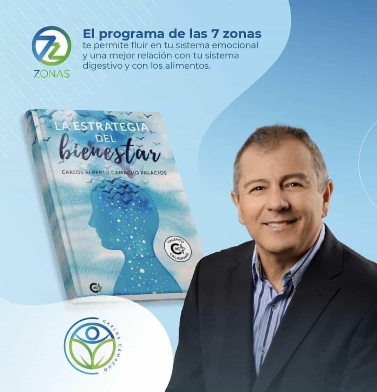 El médico Carlos Alberto Camacho Palacios acaba de publicar su libro 'La estrategia del bienestar'.