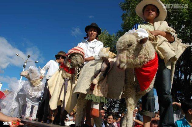 El Festival de la ruana y el pañolón, una tradición con sello Paipano. 7