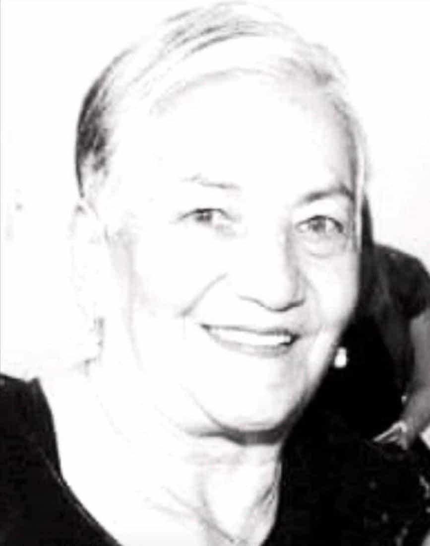 Florángela Chaparro viuda de López, emprendedora sogamoseña que falleció a los 88 años de edad.
