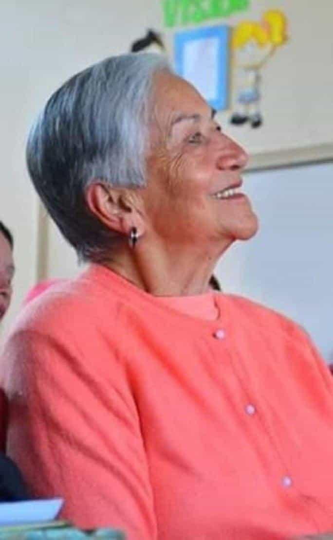 Desde 1983 se desempeñó doña Florángela Chaparro viuda de López como presidenta de la Junta Directiva de la Fundación Baudilio Acero.