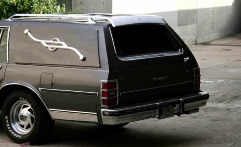 Carro fúnebre. Foto: Archivo Particular