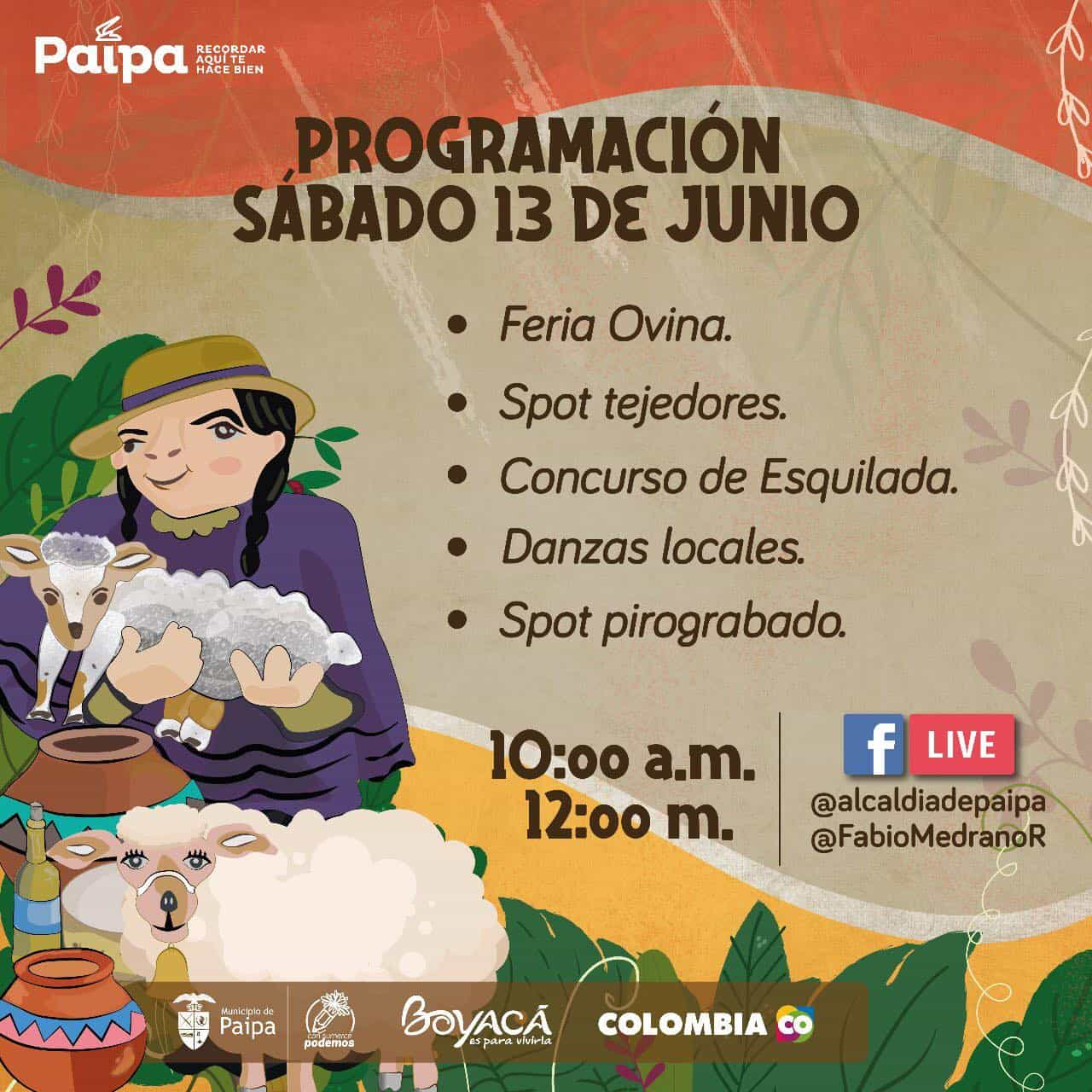 El Festival de la ruana y el pañolón, una tradición con sello Paipano. 11