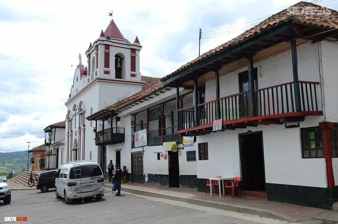 Municipio de Sotaquirá Boyacá. Foto: Luis Lizarazo / archivo Boyacá Siete Días.