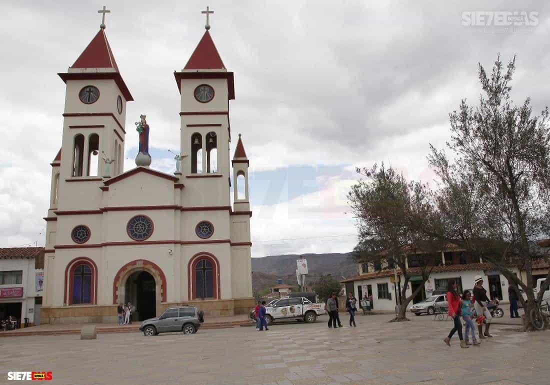 Municipio de Sutamarchán Boyacá. Foto: archivo Boyacá Siete Días.