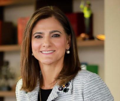 Ángela María Orozco - Ministra de Transporte - Fotografía - Archivo particular