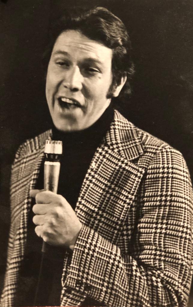 Álvaro Brijaldo fue todo un galán en la época de los 70s. Fotografía - Archivo particular
