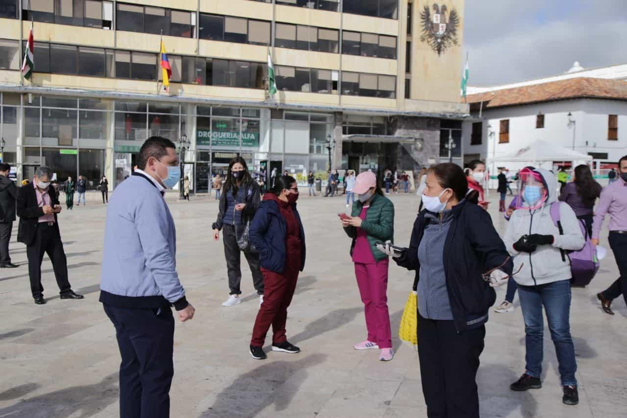 Tunja, con 200 casos sigue siendo el municipio con mayor número de casos positivos para COVID19. Foto: Archivo Particular