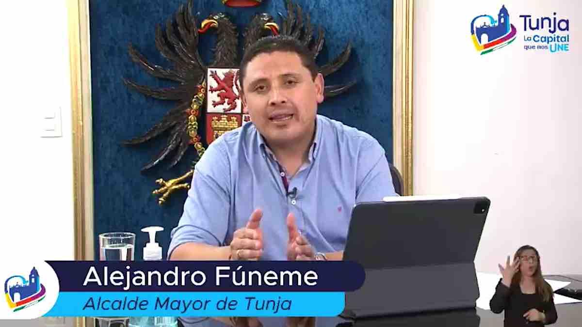 El alcalde Alejandro Fúneme aumentó el horario toque de queda y dictó otras medidas para frenar el contagio. Archivo Particular