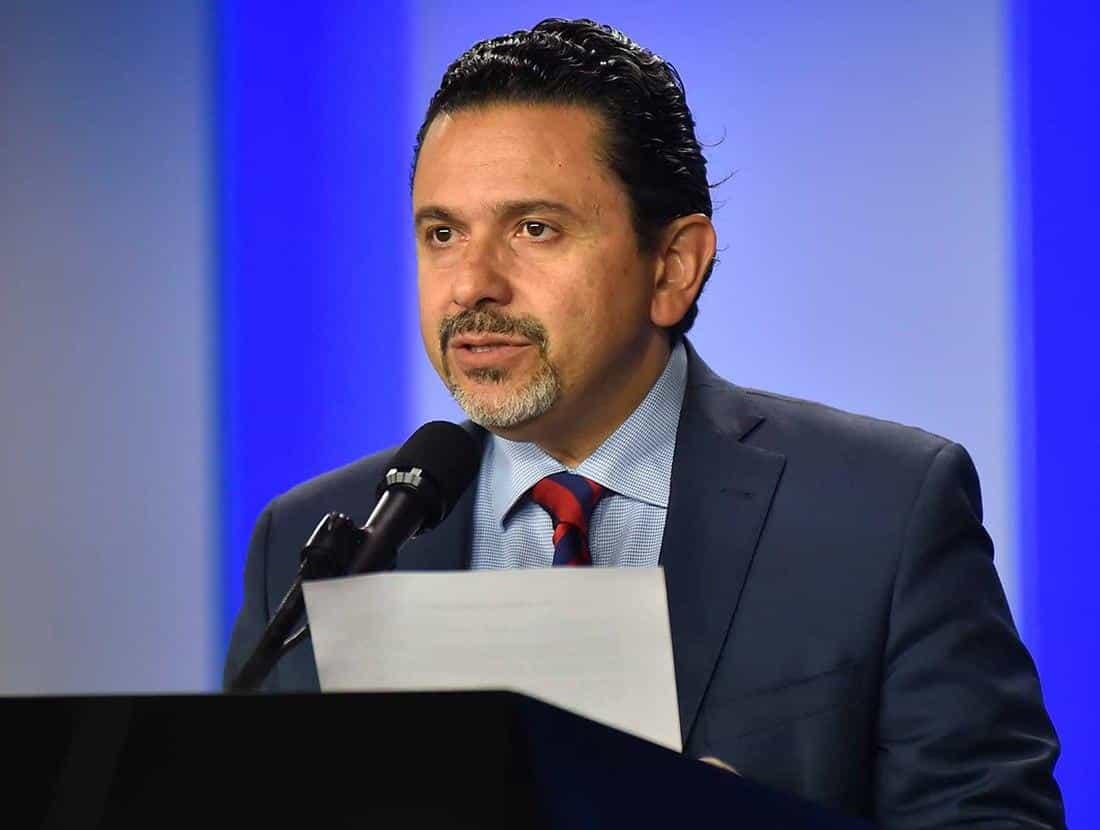 Miguel Ceballos, alto comisionado para la paz. Foto: Presidencia de la República.