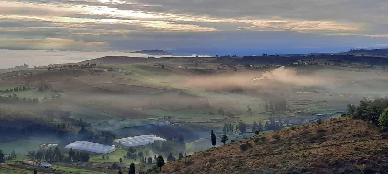 Paisaje Boyacense al amanecer. Foto: Archivo Particular