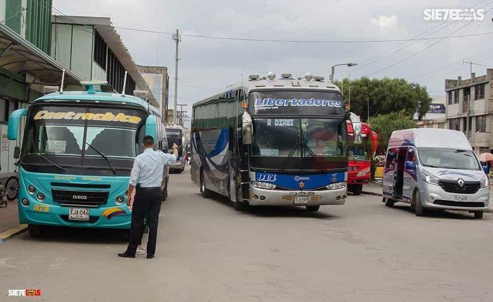 El precio del pasaje de Sogamoso a Bogotá es de $48.000; de Duitama a Bogotá, de $45.000, y de Tunja a Bogotá, de $38.000.  Foto: archivo Boyacá Sie7e Días.