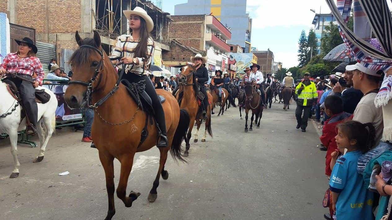 Este año en el Festival del Sol y del Acero no se podrán ver los tradicionales eventos, como la cabalgata. Archivo particular