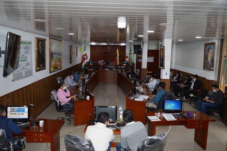 Concejo de Sogamoso Boyacá. Foto: Archivo Particular