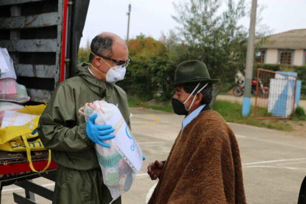 Gensa también entrega ayudas para los boyacenses en medio de la pandemia 4