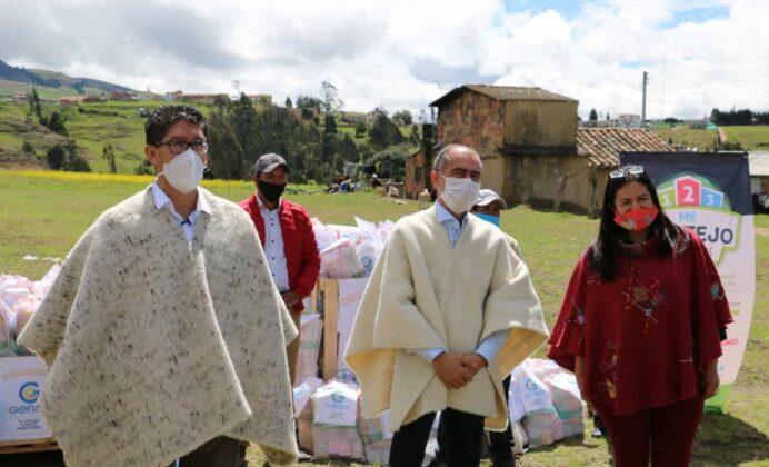 Gensa también entrega ayudas para los boyacenses en medio de la pandemia 5