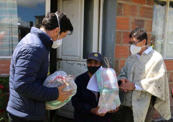 Gensa también entrega ayudas para los boyacenses en medio de la pandemia 3