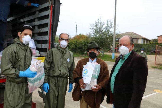 Gensa también entrega ayudas para los boyacenses en medio de la pandemia 2