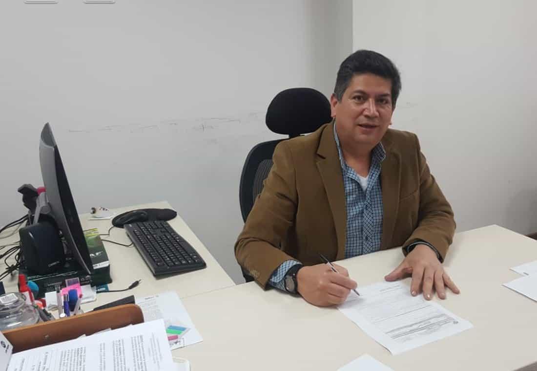 Libardo Ángel González - Secretario Jurídico de Tunja. Foto: Archivo Particular
