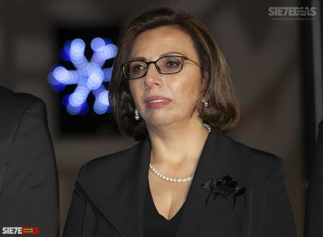 Lucy Esperanza Rodríguez Pérez, secretaria de Protección Social de Tunja. Fotos: Archivo Boyacá Sie7e Días