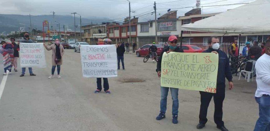 Transportadores del servicio intermunicipal de pasajeros le piden al Gobierno reactivar todas las rutas #LaEntrevista 1