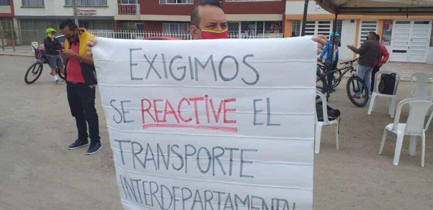 Transportadores del servicio intermunicipal de pasajeros le piden al Gobierno reactivar todas las rutas #LaEntrevista 2