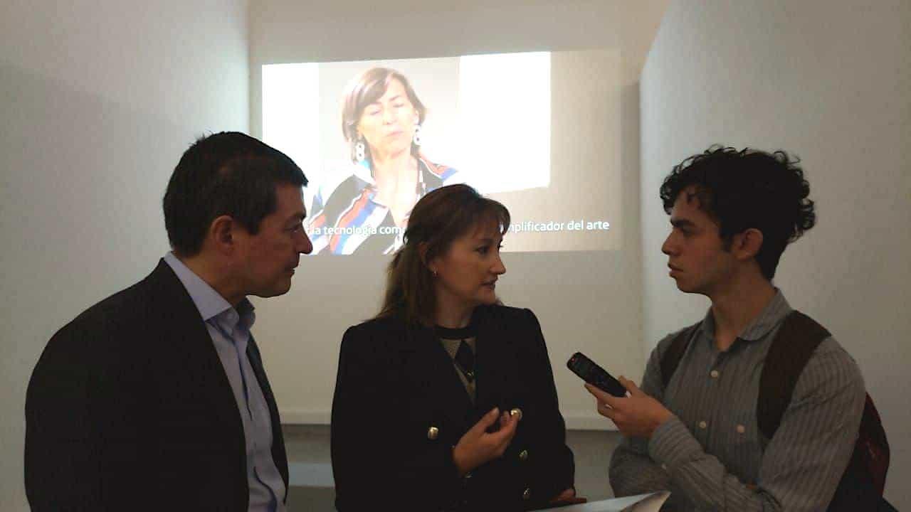Mónica Hernández, directora de la Fundación Telefónica Movistar. Foto: archivo particular
