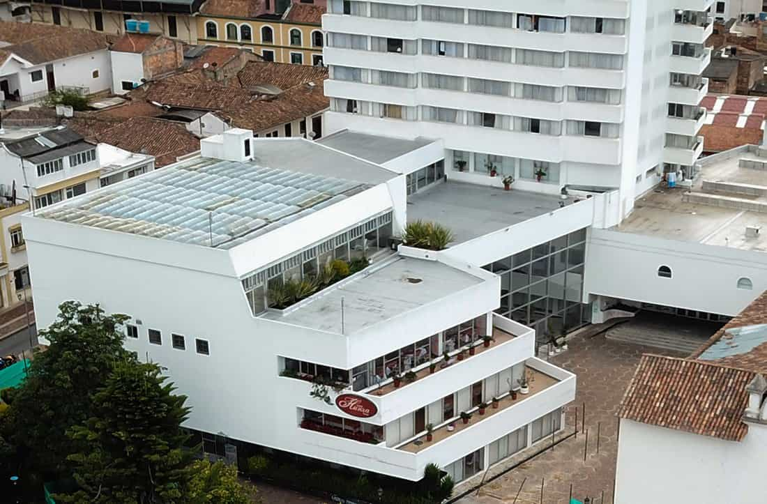 Panorámica Hotel Hunza. Foto: archivo Boyacá Siete Días.