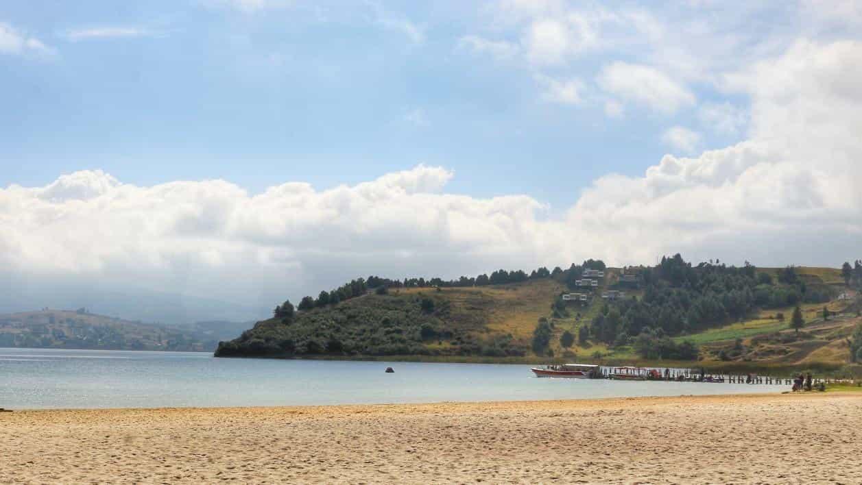 Playa Blanca, Tota Boyacá, Colombia Foto: Archivo Particular