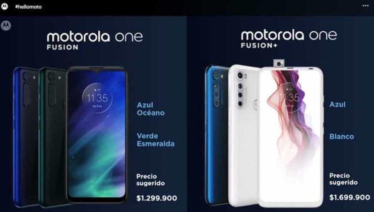 Motorola sorprende en el día sin IVA con dos modelos especiales, el One Fusion y el One Fusion + 3