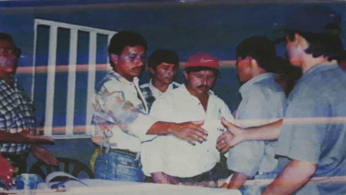 Comandante Batallón - Luis Murcia (pequinés) -  Procurador Provincial - proceso de paz de Occidente de Boyacá. Foto: archivo particular.