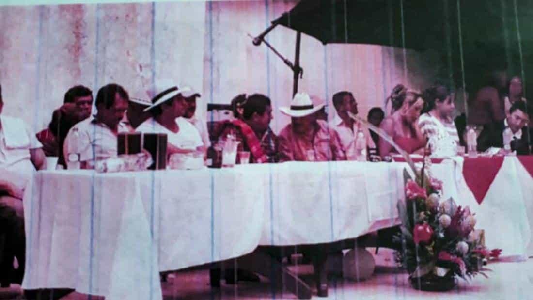 Proceso de paz de Occidente de Boyacá. Foto: archivo particular.