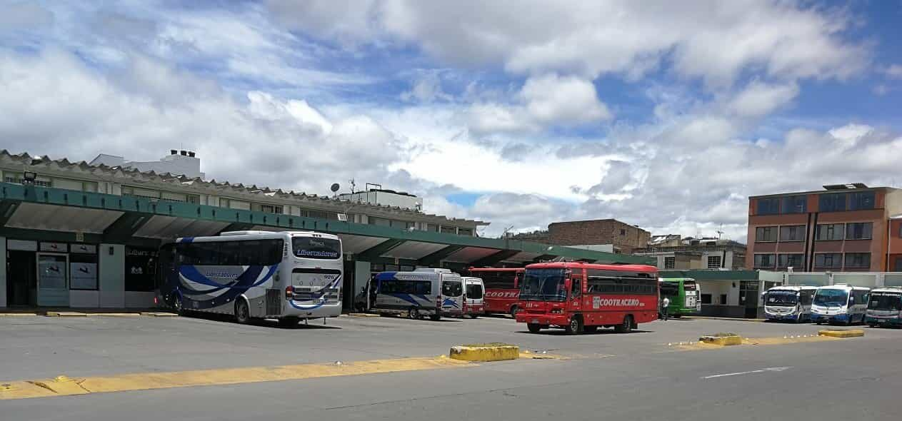 De Sogamoso a Bogotá los buses saldrán a las 6:00, 7:00, 8:00, 9:30 y 11:00 de la mañana, y a las 2:00 de la tarde todos los días. Foto: archivo particular