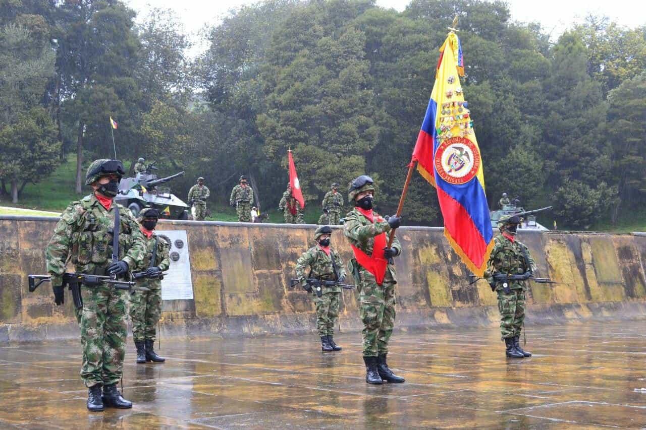 Así fue la conmemoración de los 201 años de la Batalla del puente de Boyacá en medio de la pandemia 11