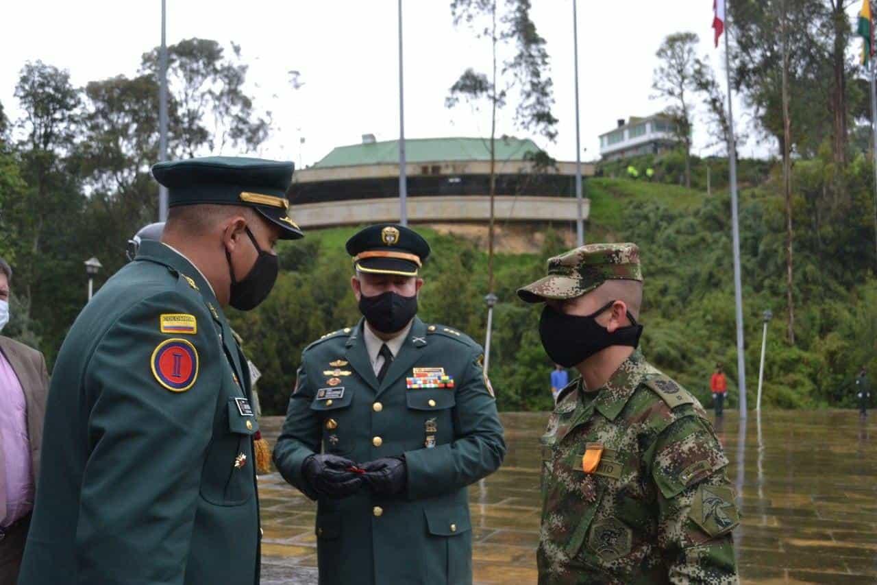 Así fue la conmemoración de los 201 años de la Batalla del puente de Boyacá en medio de la pandemia 2