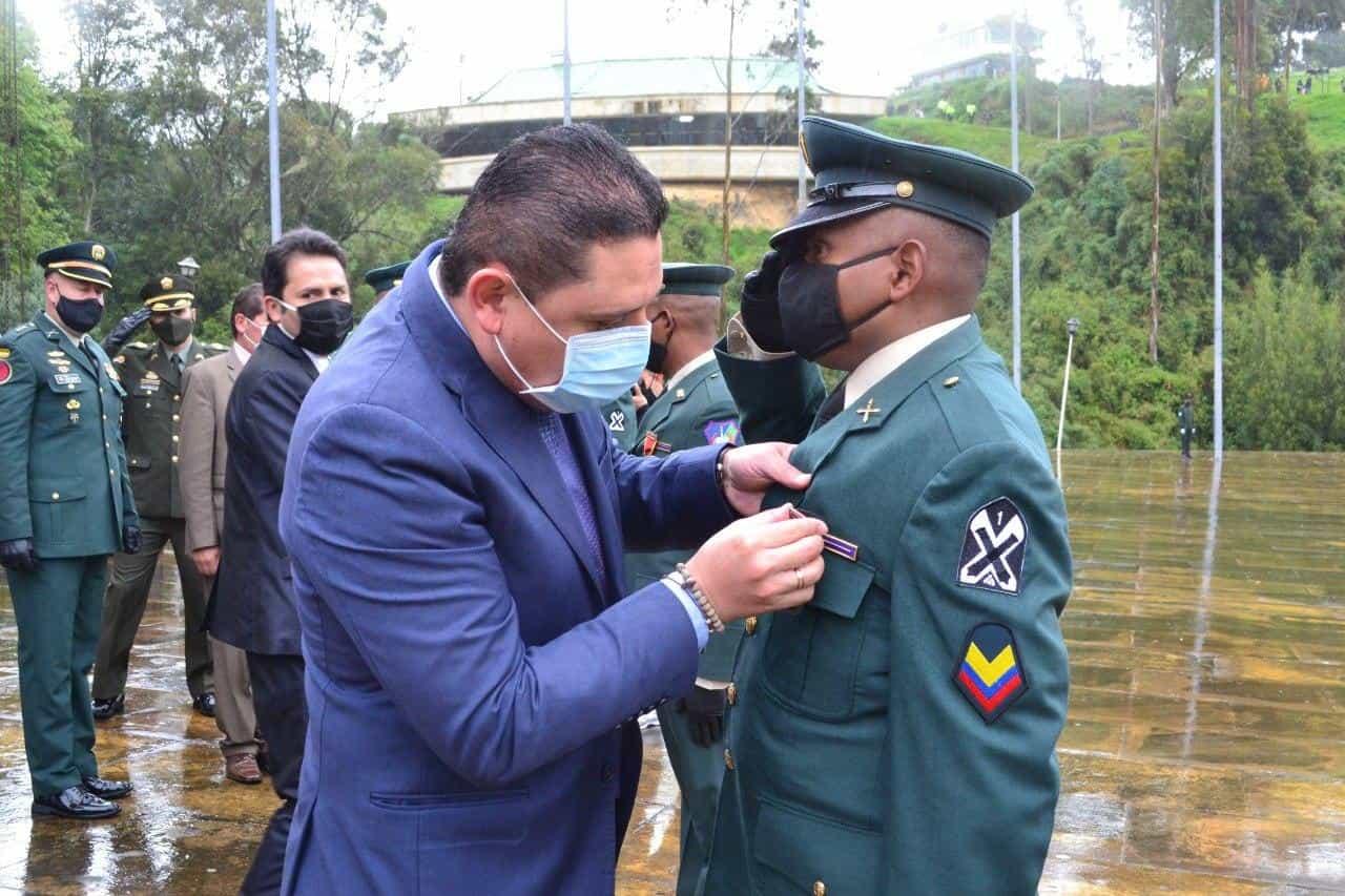 Así fue la conmemoración de los 201 años de la Batalla del puente de Boyacá en medio de la pandemia 3
